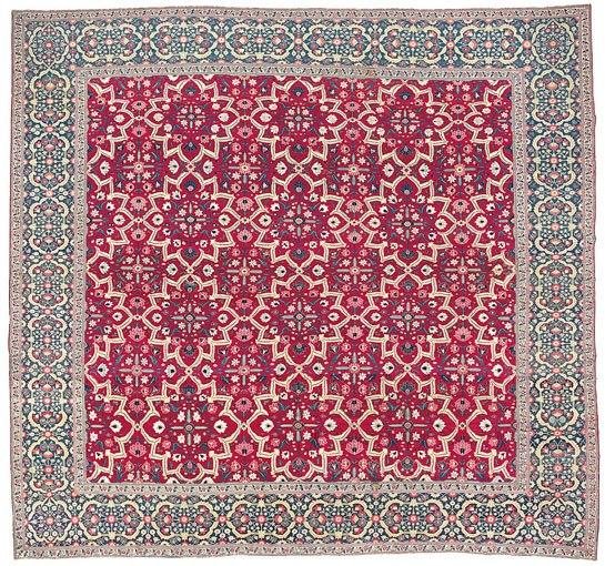 Muhal Vanderbilt Star Lattice Carpet