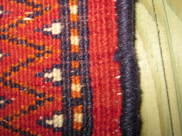 rugs sides or selvages