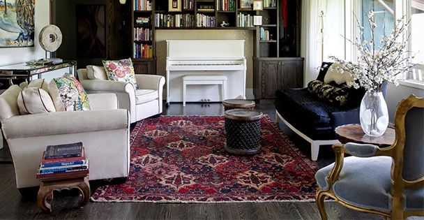 Hand Knotted Fl Persian Rugs