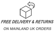 Free UK Mainland Delivery and returns