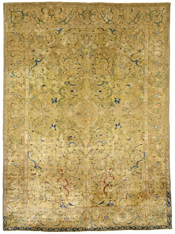 $4.5m Isfahan auction rug