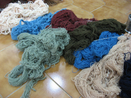 Nain wool found in a local Bazaar