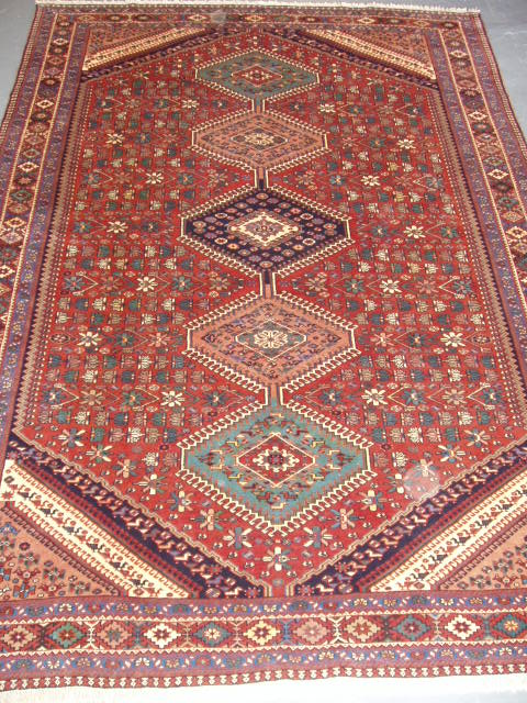 A typical fine Yalameh rug