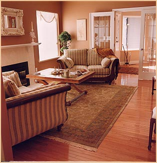 Ziegler rug in room setting