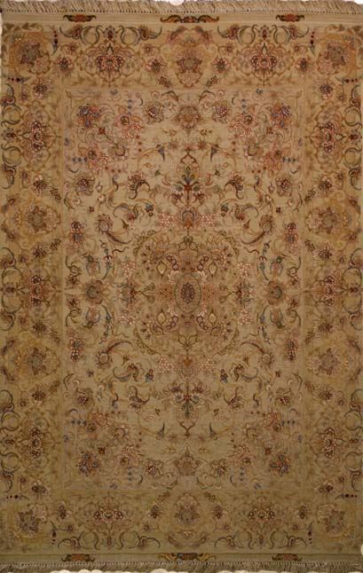 Tabriz Rugs Can Be Found In Limitless Designs Below Is An Example Of Two The Most Por C Field And Mahi Patterns