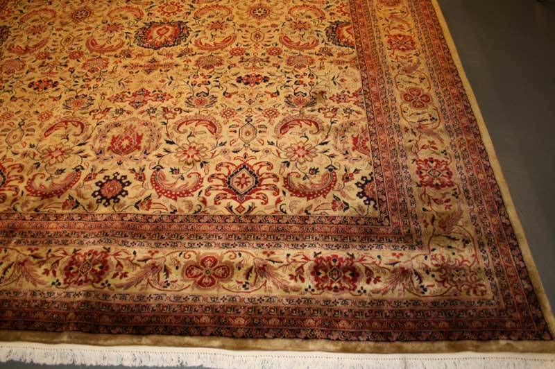 Strange Colouring On Indian Rugs Rug