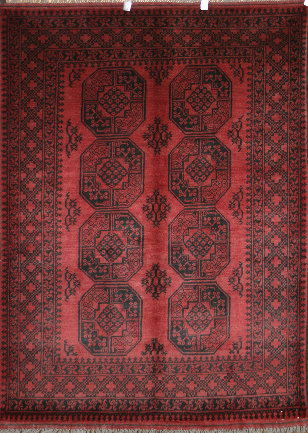 Afghan Red Rugs Aqcha Rugs Origin And Description Guide