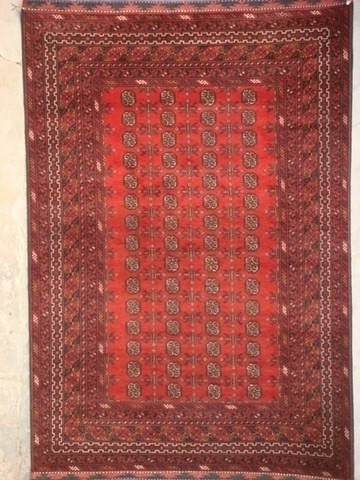 Afghan Red Rugs Aqcha Origin And