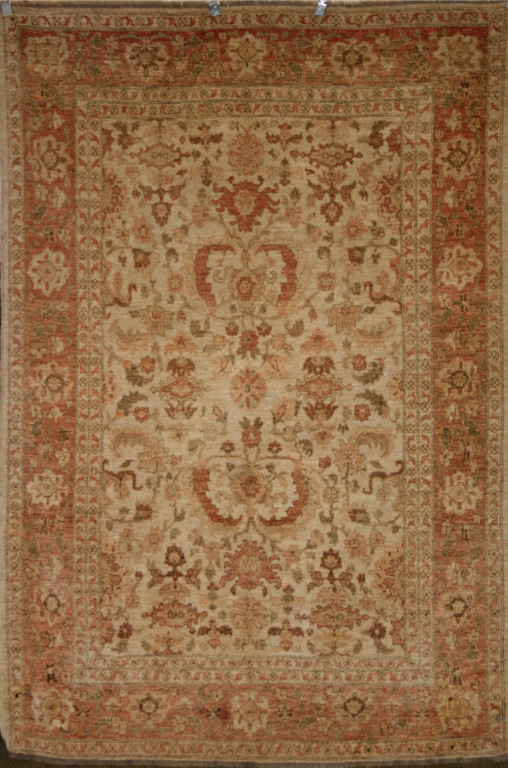 Oriental Hand Knotted Ziegler Rug In