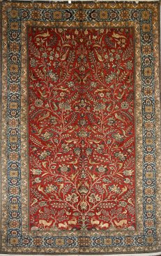Persian Oriental Rug Layout And